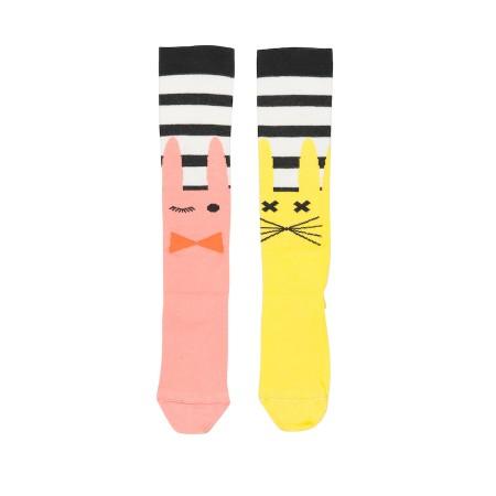 POLKA STRIPE rajstopy - leginsy / Leggings - tights