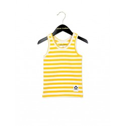 TOP STRIPE YELLOW