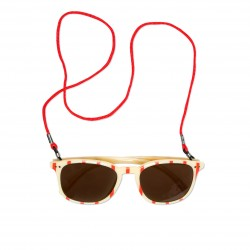 OKULARY / SUNGLASSES STRIPE AOP
