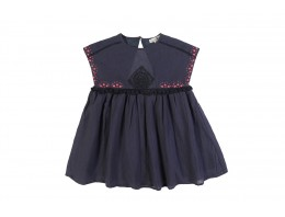 Dress Pompon Dark Zinc