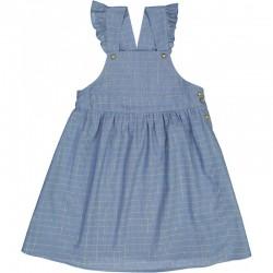 SUKIENKA / DRESS ROBE ALEXANDRA- BLUE LUREX