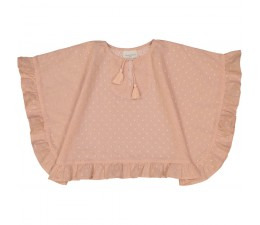 BLUZKA / BLOUSE CHOUQUETTE ANGLAISE ROSE