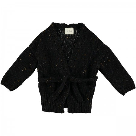 SWETER / KARDIGAN GINGER black