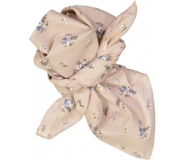 SCARF / CHUSTA SISSI flowers  pink