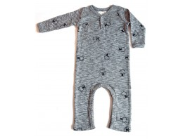 BABY SUIT - GRO INTERLOCK OCEAN