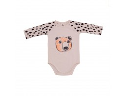 BODY LONGSLEEVES BLACK DROPS / BEAR