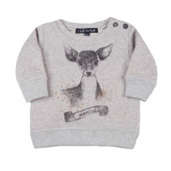 SWEAT / BLUZA GRAY GOLD HIND